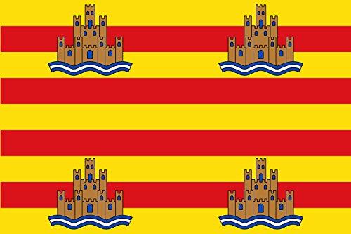 magFlags Bandera Large Ibiza | Bandera Paisaje | 1.35m² | 90x150cm