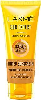 Lakme 50 SPF Sun Expert Tinted Sunscreen Cream (50 g)