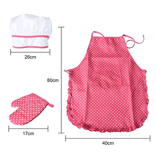 Product Image 6: Cooking, Baking Set, Chef Hat, Oven Mitt, and Other Cooking Utensils for Kids