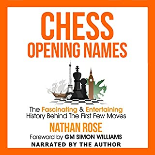 Chess Opening Names audiobook cover art