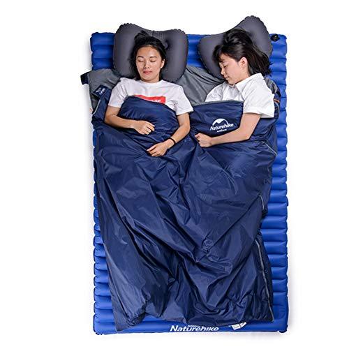 N / A Mini Saco de Dormir liviano y portátil, Impermeable y a Prueba de Humedad, Transpirable y cómodo, Adecuado para Acampar y Caminar al Aire Libre