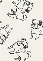 igsticker ポスター ウォールステッカー シール式ステッカー 飾り 1030×1456㎜ B0 写真 フォト 壁 インテリア おしゃれ 剥がせる wall sticker poster 010696 犬 動物 イラスト