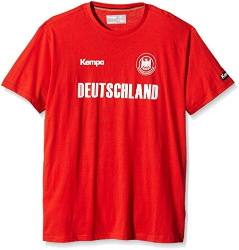 Kempa T-Shirt Deutschland, Rot, XXS/XS