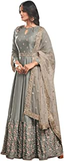 Designer Collection Embroidered Zari Hand work Indian Anarkali Salwar Suit Ethnic wear women gown Ceremony Muslim 761 2