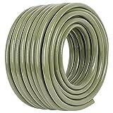 JonesHouseDeco PVC Manguera para Jardin 25m 1/2'' (13mm) Ducha Manguera Riego Flexible de Agua