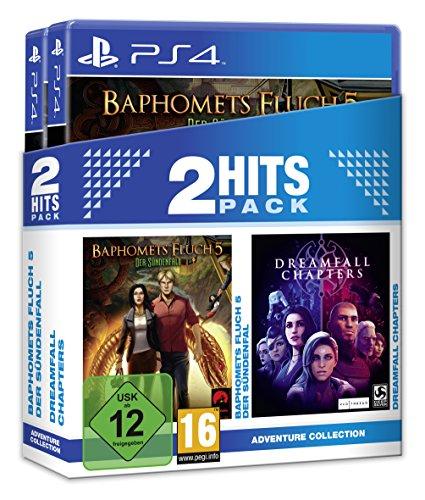 2 Hits Pack Baphomets Fluch 5 Der Sündenfall und Dreamfall Chapters [PlayStation 4]