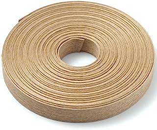 手芸用エコクラフトテープ 麦の穂(茶) 50m巻き巾15mm12芯
