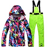 SHUHANX Winter Jackets Woman Snowboarding Winter Sports Clothingski Sets...