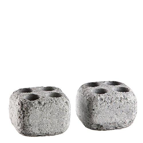 Dampfsteine aus Speckstein für den Saunaofen