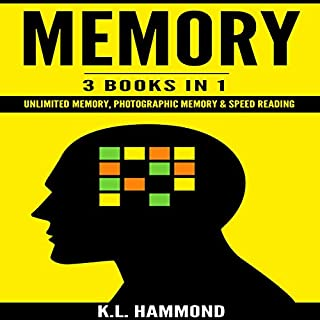 Memory: 3 Books in 1 audiobook cover art