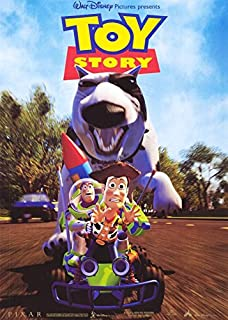 TOY STORY MOVIE POSTER 1 Sided ORIGINAL CHASE 27x40 DISNEY
