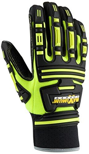 Maximum Safety 120-5275/L Roustabout KVW Gloves, Large