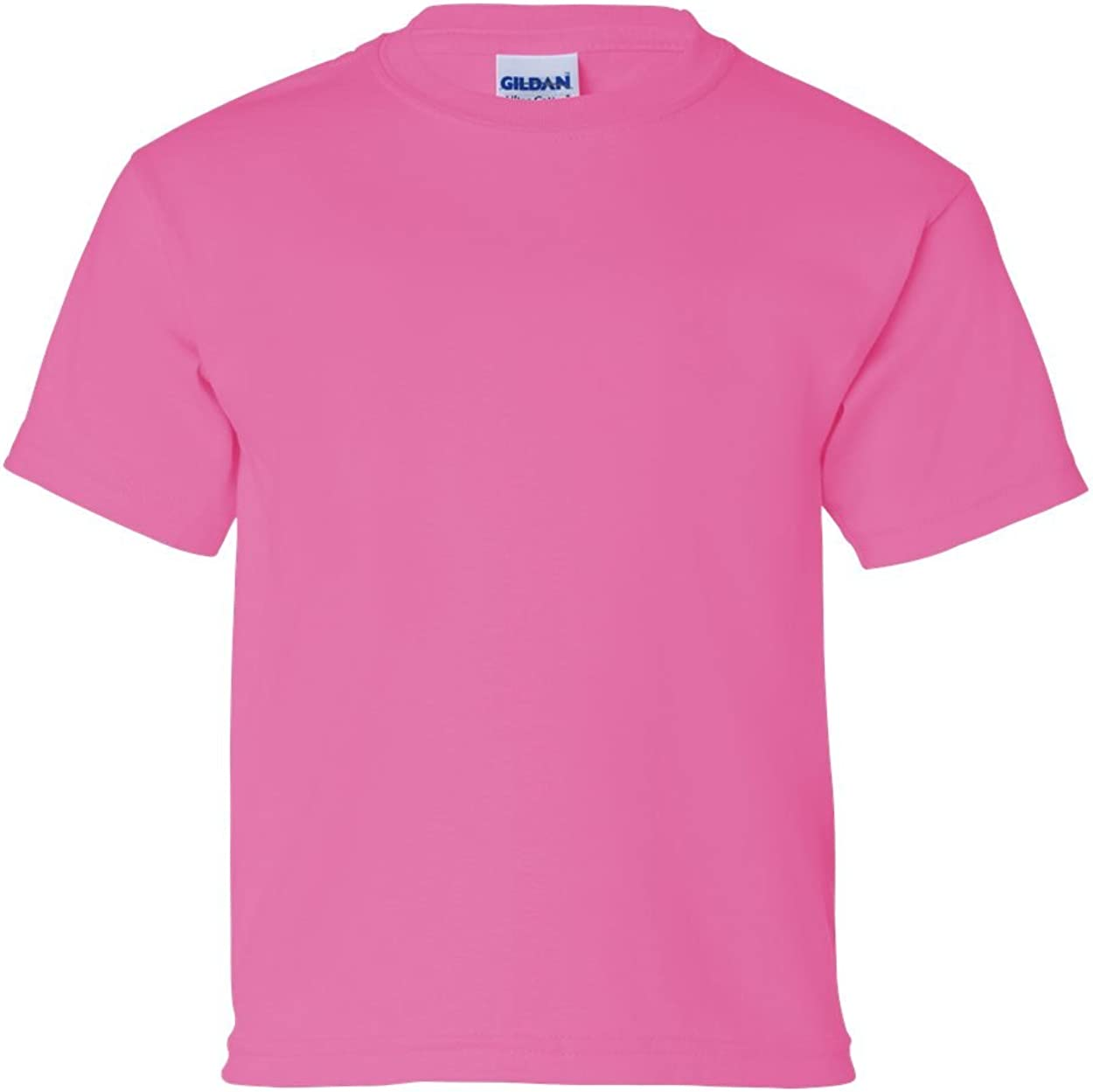 Cotton T-Shirt (G200B) Safety Pink, L (Pack of 12)