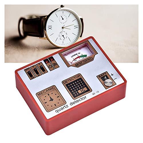 ZRNG Desmagnetizador Timegrapher desmagnetización/Batería Medida/Pulso/Cuarzo Reloj del probador de la máquina Herramienta for detectar Capacidad de la batería B (Color : Watch Tool)