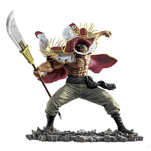 Clicked One Piece Ritratto: White Beard Edward Newgate PVC Figure da Collezione Action Figure Miglior Regalo for Bambini Adulti E Anime Fans - Alto 25 Cm