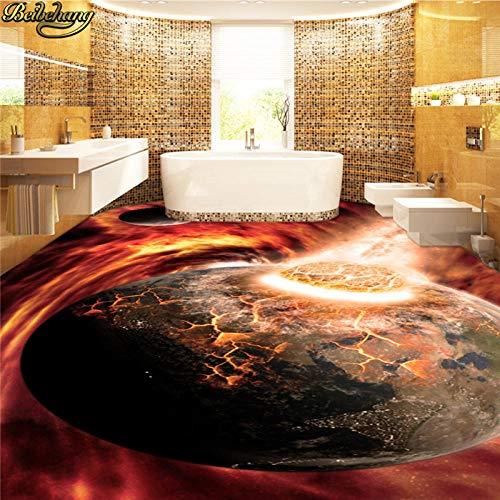 Aangepaste fotobehang bodemschilderij fantasie sterrenhemel Outdoor Visual Impact 3D driedimensionale olieverfschilderij 430 cm x 300 cm.