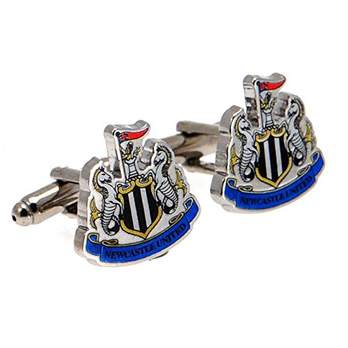 Official Football Team Gift Newcastle United F.C. Cufflinks by footballsouvenirs