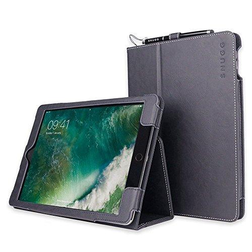 Custodia iPad Air 2, Snugg - Copertina in Ecopelle Intelligente, Rivestimento Interno di Qualità in Nabuk, Supporto Flip-stand con Garanzia a Vita per Apple iPad Air 2 (Blue mare)