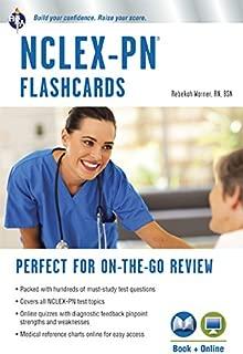 NCLEX-PN Flashcard Book + Online (Nursing Test Prep)