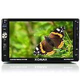 XOMAX XM-2VRSU716BT Autoradio mit Touchscreen I Bluetooth I USB SD AUX I RDS Radio Tuner I 2 DIN