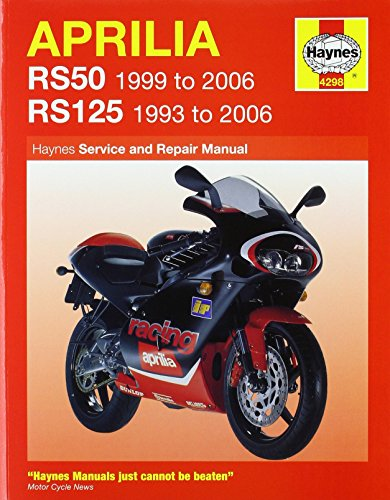 Aprilia RS50 and 125 Service and Repair Manual: 1993 to 2006 (Haynes Service and Repair Manuals) by Phil Mather (31-Aug-2006) Paperback