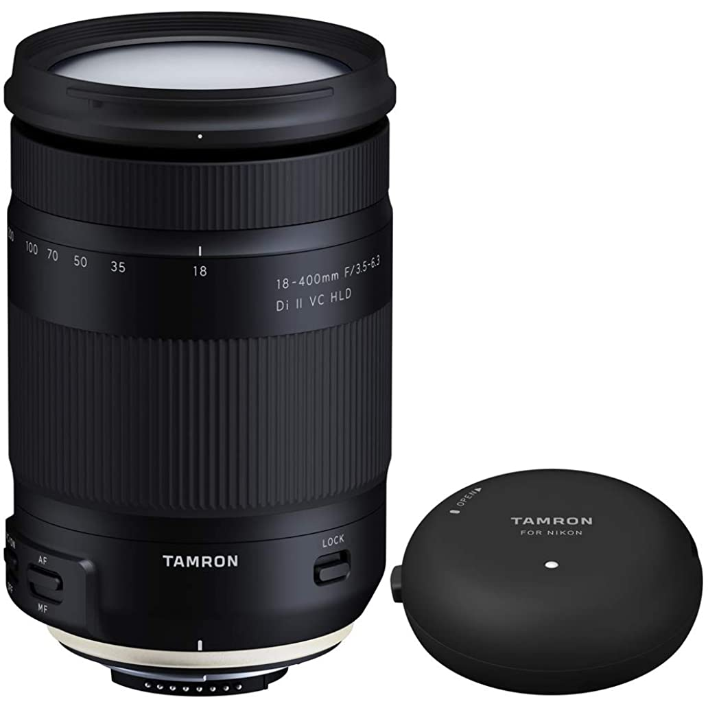 Tamron 18-400mm f/3.5-6.3 Di II VC HLD All-in-One Zoom Lens for Nikon Mount (AFB028N-700) TAP-in Console Lens Accessory for Nikon Lens Mount otf3289512