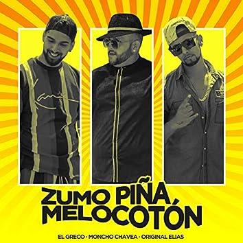 Zumo Piña Melocotón