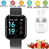 Smartwatch Orologio Fitness Tracker Uomo Donna, Impermeabile Bluetooth...