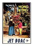 BOAC Hong Kong A3 Poster Boac Vintage Foto Old Airways