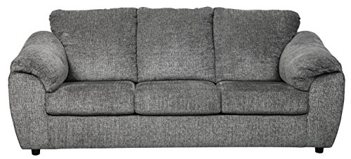 Signature Design by Ashley - Azaline Contemporary Upholstered Sofa, Slate Grey