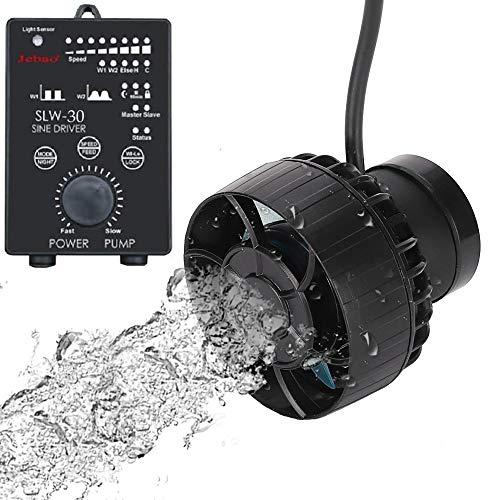 METIS SLW30 ウェーブポンプ 水流ポンプ 水中ポンプ 水槽ポンプ アクアリウム ワイヤレス 回転式 水槽循環ポンプ 強力 安定 波メーカー 淡水 海水 マグネット吸盤 (SLW30(13000L/H), WIFIアプリ機能無し)