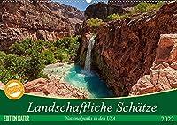 Landschaftliche Schaetze (Wandkalender 2022 DIN A2 quer): Landschaftskalender mit atemberaubenden Motiven und unberuehrten Landschaften. (Monatskalender, 14 Seiten )