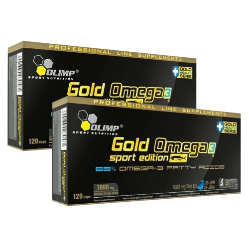Olimp Gold Omega 3 Sport Edition- 2x120 Kapseln