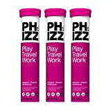 Phizz Electrolyte Multivitamin Rehydration Tablets - 19 Vitamins & Minerals, Energy Boost (Apple & Blackcurrant, 60 Tablets)