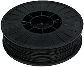 UP! ABS Plastic Filament, 1.75 mm Diameter, 1.54 lbs Spool, Black