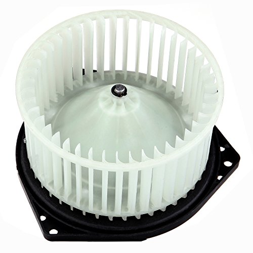 SCITOO ABS Plastic AC Heater Blower Motor w/Fan HVAC Blowers Motors fit for 1998 for NISSAN Maxima 1996-2004 for NISSAN Pathfinder