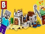 Clip: Lego Minecraft The Desert Outpost Set 21121 - Unbox Build Time Lapse...