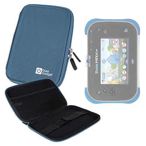 DURAGADGET Pochette étui Rigide Bleu pour Vtech Storio Max XL 2.0 Tablette Enfant (Bleu ou Rose 3480 – 194622) - Résistant à l'eau