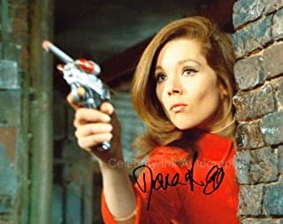 DIANA RIGG as Emma Peel - The Avengers Genuine Autograph