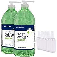 2-Pack Alpacasso Hand Sanitizer Soap Bulk 1000ml Cleaning Refill Spray Gel
