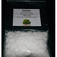 100 g de alcanfor, Campfer, 100% natural, Incienso para esoterismo, mística y magia