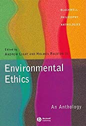 Environmental Ethics: An Anthology Book Cover