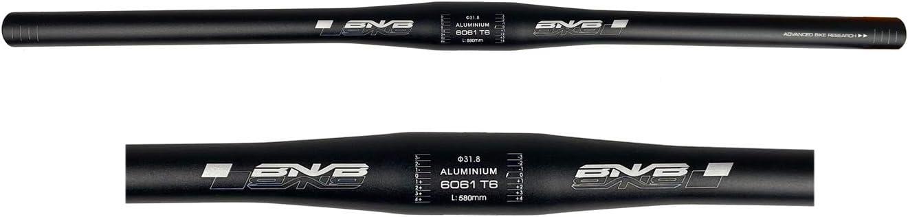 Guidon de v/élo de montagne guidon de v/élo de 700 mm pour VTT de descente et course de v/élo guidon de v/élo en alliage daluminium 31,8 mm