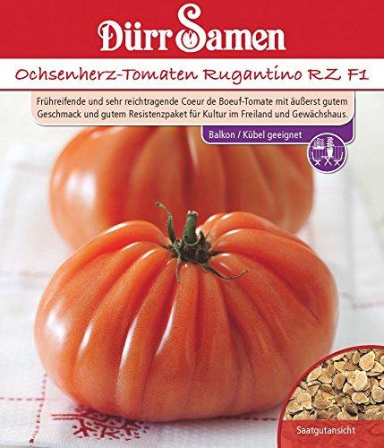 Dürr Samen 4276 Ochsenherztomate Rugantino RZ F1 (Ochsenherztomatensamen)