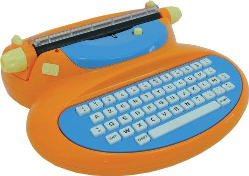 Mehano E188A Elektronische Schreibmaschine, Orange
