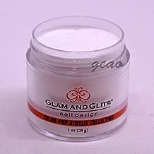 Glam and Glits Color Acrylic Powder, Lush Coconut-384, 1 oz