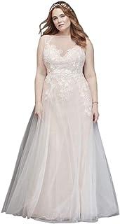 324d932a1ef Amazon.com  bridal dresses wedding dresses - David s Bridal   Plus ...