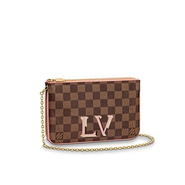 Fashion Shopping Louis Vuitton Pochette Double Zip Crossbody Bags Purse Handbags
