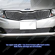 APS Compatible with 2011-2013 Kia Optima SX EX Optima Billet Grille Grill Combo K61126A