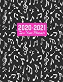 2020-2021 Two Year Planner: Neat Daily Weekly Monthly 2020-2021 Planner Organizer, Agenda, Schedule and To Do List Journal | Art Cover 00023189